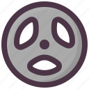 barbell, exercise, fitness, gym, plate icon