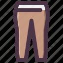 clothes, legging, sport, stocking, yoga icon