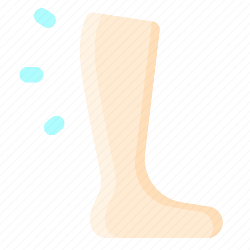 calf, fitness, foot, leg, muscle icon