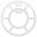 exercise, fitness, gymnastic, wheel icon