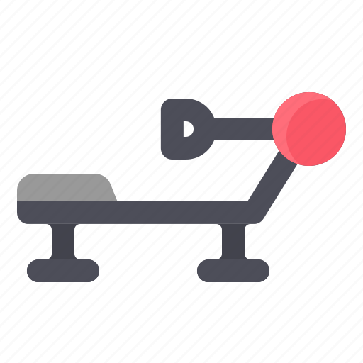 Exercise, fitness, gym, machine, rowing icon - Download on Iconfinder
