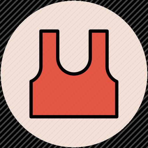 clothing, garments, player vest, sports vest, sports wear, vest icon
