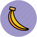 banana, diet, food, fruit, healthy diet, plantain icon