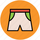 briefs, shorts, swim shorts, undergarments, underpants icon