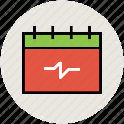 calendar, schedule, timeframe, timetable, wall calendar icon