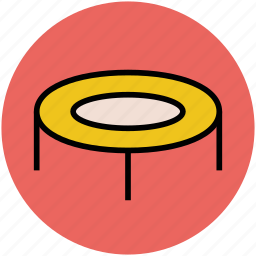 activity, exercise, jumping jack, jumping pad, springboard, trampoline icon