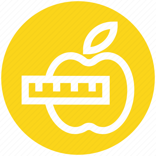 apple, diet chart, eating, health and fitness, healthy diet, healthy eating icon