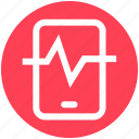 cell, fitness, health, iphone, medical, monitor, phone icon