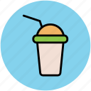 disposable cup, juice cup, paper cup, smoothie cup, takeaway juice icon