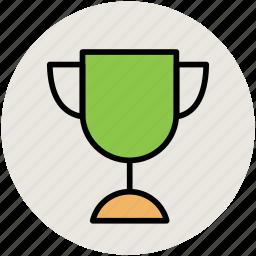 award trophy, champion, prize, trophy, trophy cup, winner icon