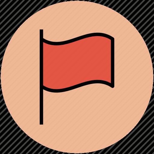 destination flag, ensign, flag, flag pole, location flag, sports flag icon