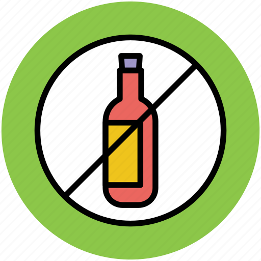 no alcohol, no wine, wine not allowed, wine prohibition, wine restriction icon