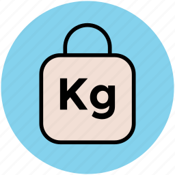 kilogram weight, weight, weight ball, weight tool, weightlifting icon