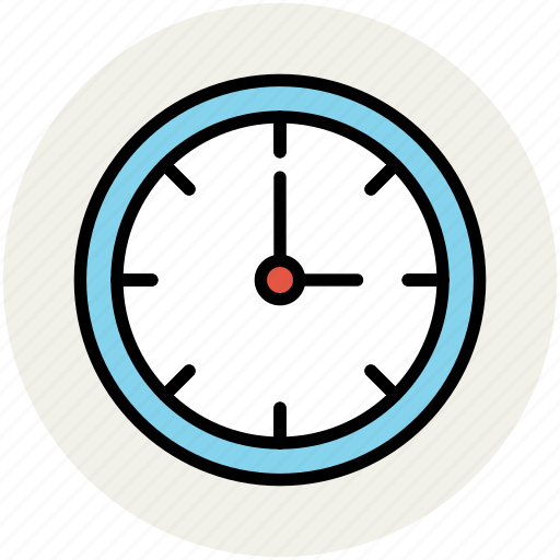 clock, time, time keeper, timepiece, timer, wall clock icon