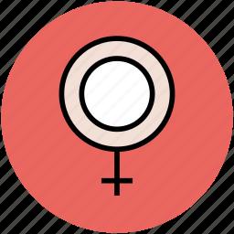 female gender, gender sign, gender symbol, sex symbol, woman gender icon