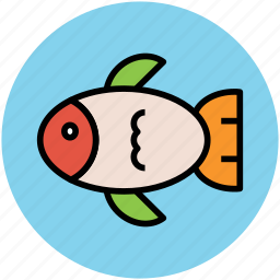 cooked fish, diet, fish, food, healthy food, sea food icon