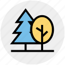 forest, generic trees, nature, park, tree, trees, wild icon