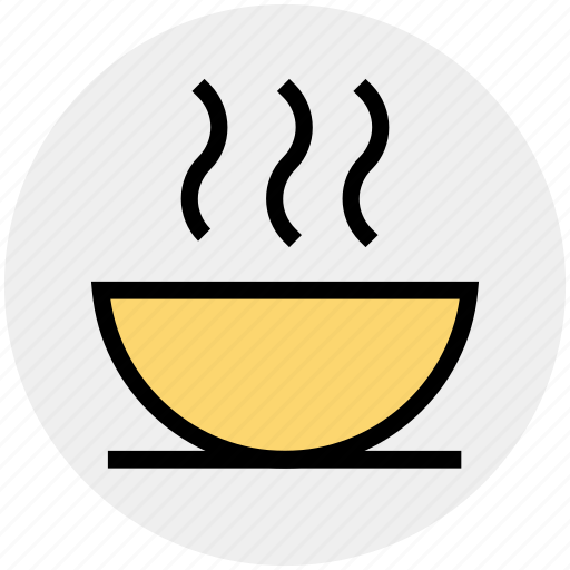 bowl, fitness, food, health, hot, snack, soup icon
