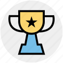 athletic, award, fitness, health, sport, star, trophy icon