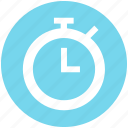 clock, coach, fitness, gym, stopwatch, timer, watch icon
