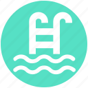 diving, fitness, health, pool, sports, swimming, swimming pool icon