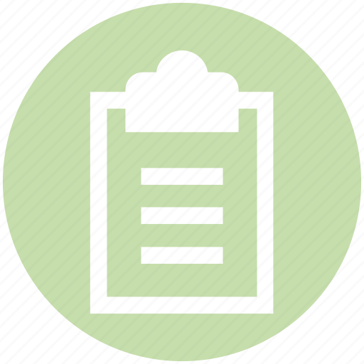clipboard, completed, file, health, sheet, tasks icon