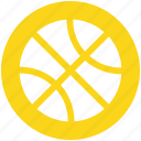 ball, basketball, fitness, game, race, running, sport icon