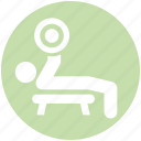 aerobics, dumbbells, exercise, fitness, gym, health, workout icon