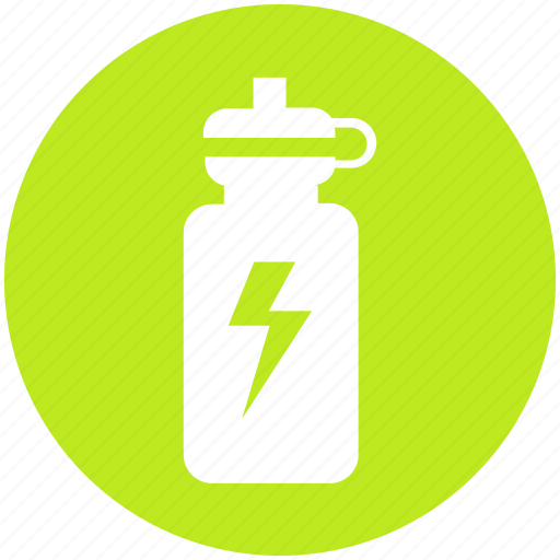 bottle, drink, energy, fitness, gym, health, sports icon
