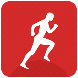 figure, man, run, runner, sportsman, trainings icon