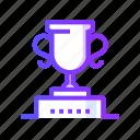 achievements, award, prize, trophy icon