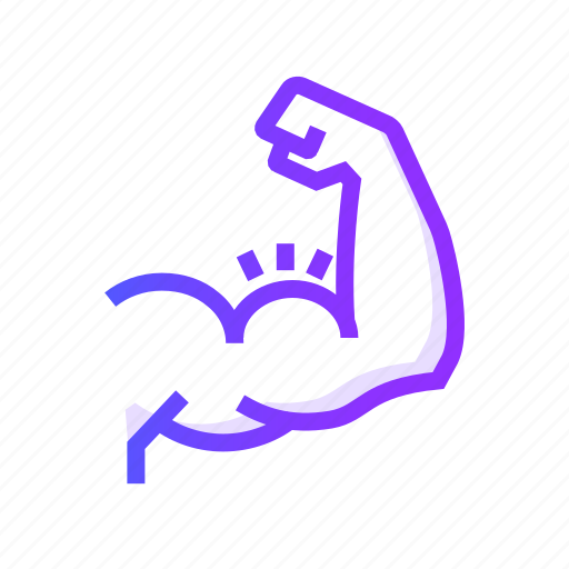analysis, growth, muscle, statistics icon