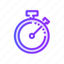 chronometer, smartwatch, stopwatch, timepiece, watch icon