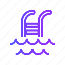 pool, sports, swim, swimming, water icon