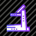equipment, machine, technology, treadmill icon