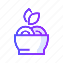 food, fruit, health, healthy, vegetable icon