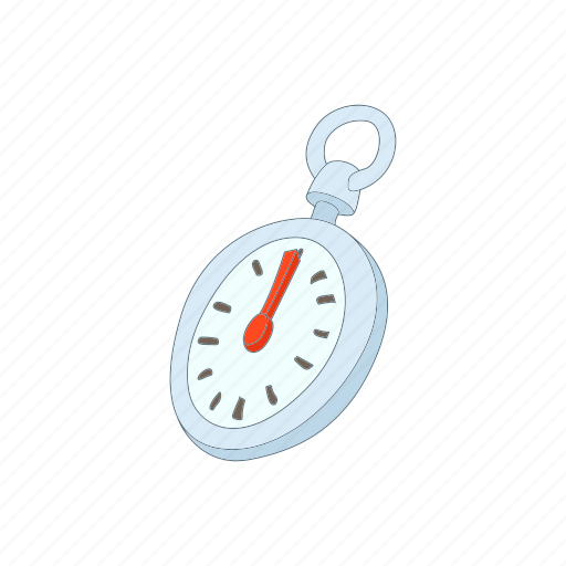 cartoon, minute, second, stop, stopwatch, timer, watch icon