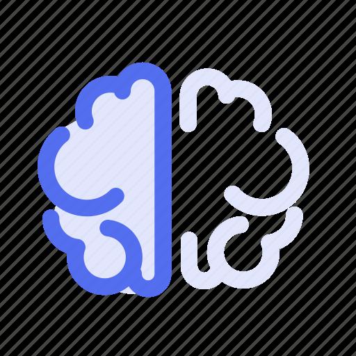 brain, fitness, health, meditate, mental icon