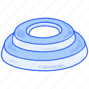 fitness, health, lifestyle, sack, sand, weight icon