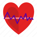 health, heart, heartbeat icon