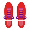 running, shoes, sneakers icon