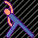 aerobics, excercise, workout icon