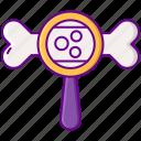 bone, calcium, density icon