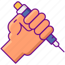 injection, insulin, resistance icon
