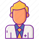 male, man, nutritionist icon