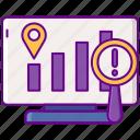 chart, graph, progress, tracking icon