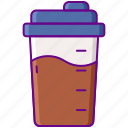 drink, fitness, protein, shake icon