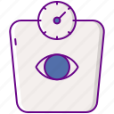 monitoring, scale, weight icon