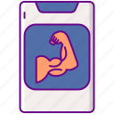 app, mobile, phone, workout
