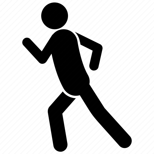 fitness exercise, jogging, running, running exercise, weight losing icon